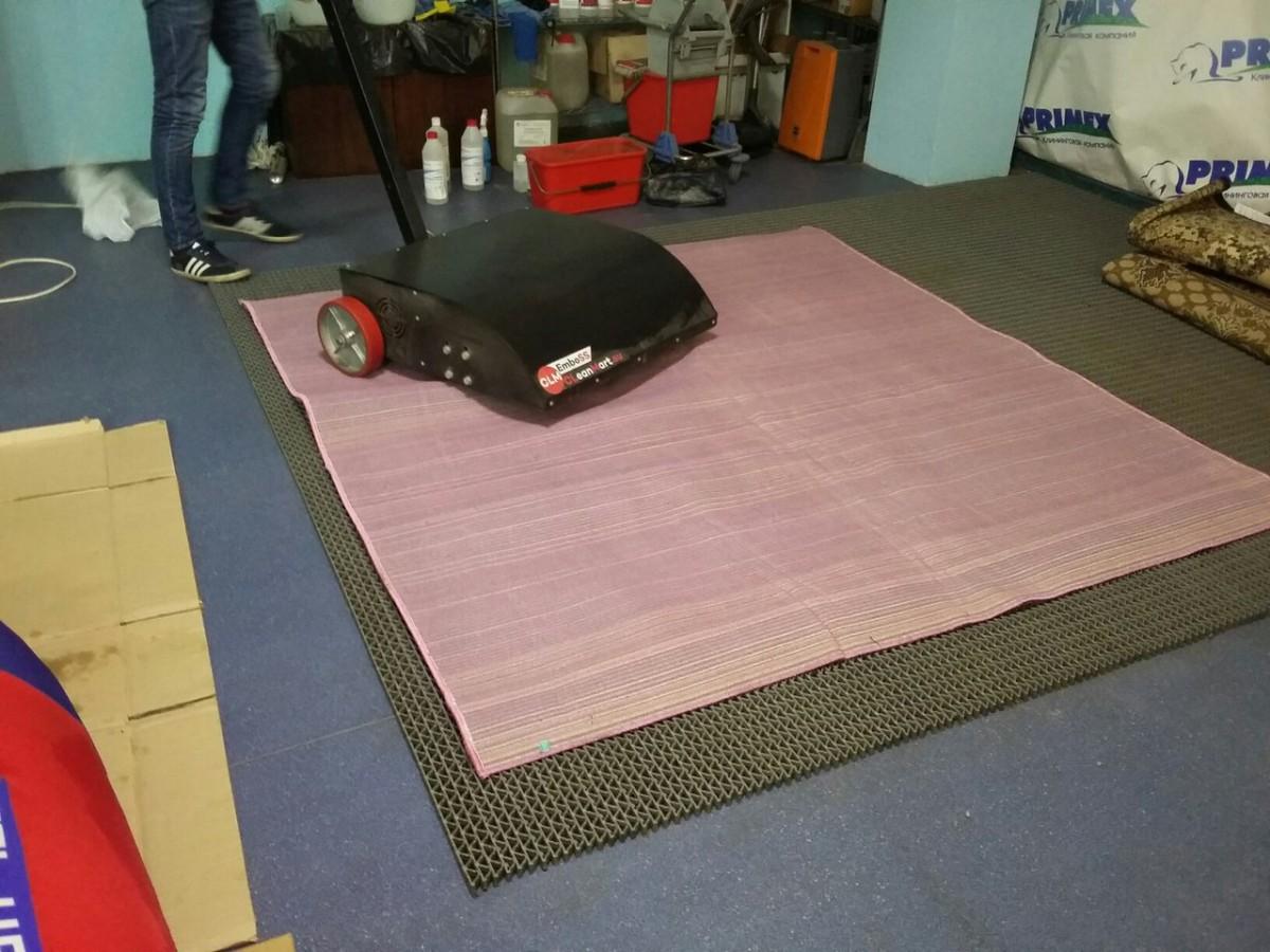 Профессиональное оборудование для чистки ковров