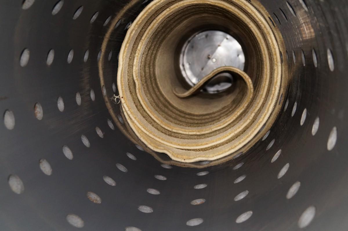Барабан центрифуги для отжима ковров